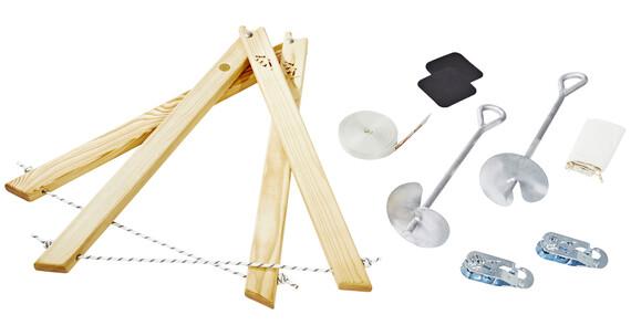 Slackline-Tools Classic Frameline slackline 10 m grijs/wit
